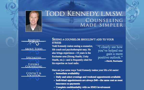 Todd Kennedy Web Site